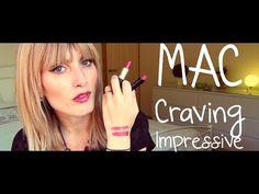 MAC Swatches - CRAVING VS IMPRESSIVE | MICHELA ismyname ❤️