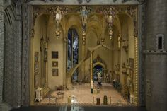 The Great Hall of Colleen Moore's Fairy Castle - one of the best dollhouses in the world - at the Museum of Science and Industry in Chicago.