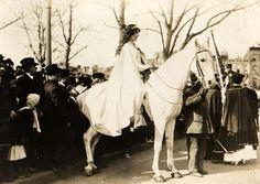 Suffragist & reformer Inez Milholland Boissevain was born #OTD in 1886!