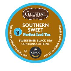 Southern Sweet Black Perfect Iced Tea by Celestial Seasonings® - Keurig.com