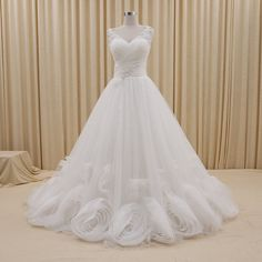 Tailor-Made 'Gabriella-Joy' Wedding Gown £599.99 Any dress featured on the website can be a corset back/button or zip. Choose the colour(s) you'd like! Combine different parts from different dresses to create a unique design! @ www.tailorwedding.com