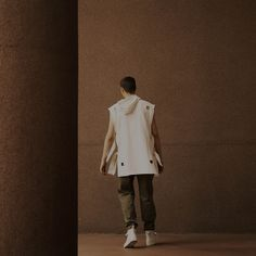 Damir Doma Spring - Summer 2016 Collection Currently On Sale. Satia Cut Out Hoody & Picoi Classic Trousers. Visit shop.damirdoma.com