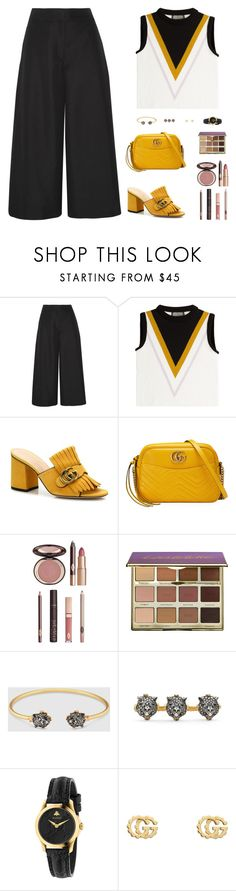 """Sin título #4879"" by mdmsb on Polyvore featuring moda, Valentino, Giambattista Valli, Gucci, Charlotte Tilbury y tarte"