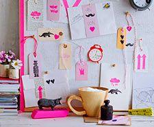 #Handmade #board #diy #ideas #cute #nice #corcho #tablones #desk #escritorio