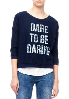 wearing words..and yes...dare