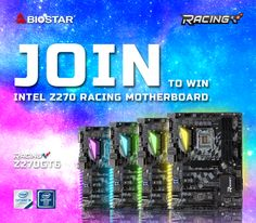 GIVEAWAY: BIOSTAR Z270GT6 Z270 Motherboard  Global entry! We have teamed up with BIOSTAR to give away one of their Z270GT6 Z270 motherboards to one lucky winner.  - http://www.biostar.com.tw - http://www.biostar.com.tw/app/en/mb/introduction.php?S_ID=859  How to Win  Step 1 - Like our Facebook Fan Page at https://www.facebook.com/TweakTown. Step 2  Like BIOSTAR's Facebook Fan Page at https://www.facebook.com/BiostarHQ. Step 3 - Subscribe to our newsletter at…