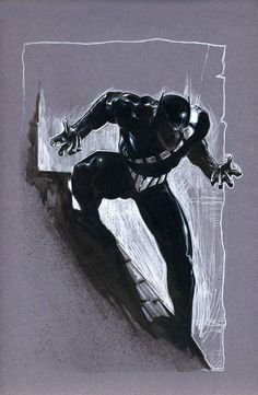 """Black Panther Sketch Gabriele Dell""""Otto"""