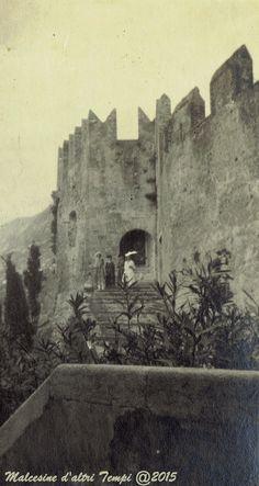 Malcesine  castello  anni '20