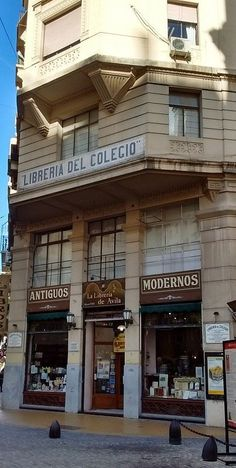 First bookshop in Buenos Aires near Colegio Nacional