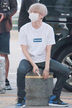 YEEEEES! Baby is blonde agais I Exo Baekhyun