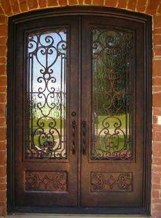 Eyebrow Iron Door