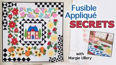 Achieve amazing appliqué projects, fast! Learn fun, versatile fusible web techniques you'll use again and again.
