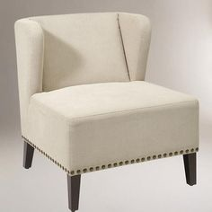 Jute Brock Wing Chair