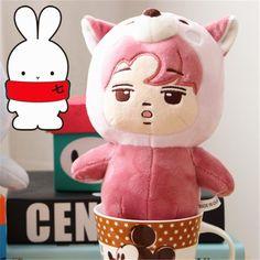 KPOP EXO KAI Plush Kim Jong In Pink Coon Animal Toy Soft Doll Kawaii Gift | Entertainment Memorabilia, Music Memorabilia, Other Music Memorabilia | eBay!
