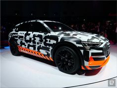 Audi e-tron electric SUV #audi #electric #prototype