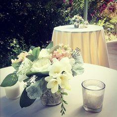 loving these florals by julie stevens design at today's wedding #OTLwedding - @otlvintage   Webstagram
