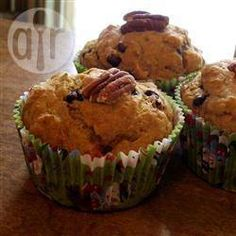 Muffins aux bananes un peu plus santé Banana Nut Muffins, Mini Muffins, Splenda Recipes, Muffin Cups, Allrecipes, Muffin Recipes, Food Photo, Yummy Food, Cooking