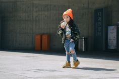 The Toddlers Dominating Seoul Fashion Week Street Style - -Wmag