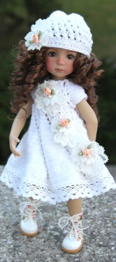 Effner Child Doll, Girl Dolls, Barbie Dolls, Baby Barbie, Real Baby Dolls, Crochet Doll Clothes, Knitted Dolls, Madame Alexander Dolls, Clothes Crafts