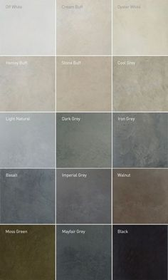 Recommended Polished Concrete Colours - #Colours #Concrete #floors #Polished #Recommended