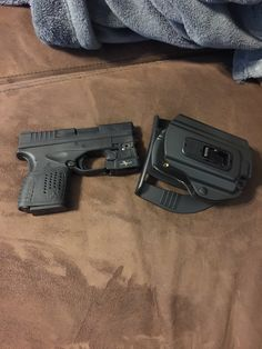 Springfield xds .45 3.3 with veridian light and locking holster. Best weapon I've ever owned!