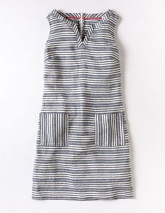 Everyday Tunic Dress in Blue/Ivory Stripe (the multi-stripe version of this dress is cute too!)
