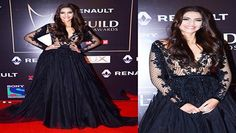"Sonam Kapoor was gorgeous in a grand black gown with net sleeves and a volumnious skirt. Sonam, who was last seen in Prem Ratan Dhan Payo, is gearing up for her next release 'Neerja'.  Click Here For Best Of Bollywood Hot Beauties : http://www.dailymotion.com/playlist/x46r92_Bolly2BoxGossip_best-of-bollywood-beauties  Click on ""Follow"" link to get more Bollywood Spicy Gossip News Videos Updates : http://www.dailymotion.com/Bolly2BoxGossip  Click Here For Best Of Bollywood Gossips…"