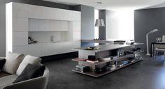 Concepto Cooking&Living. Cómo integrar cocina y salón #cooking&living #cocinas #isla #mobiliario #diseño