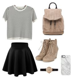 """""""Flare"""" by imouto ❤ liked on Polyvore featuring Chicnova Fashion, Uncommon, Barbour and rag & bone"""