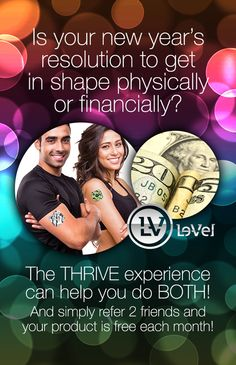 Free to join! Free website! Free product! No membership fees! No autoship! Just share and make money! Love my THRIVE business! :)