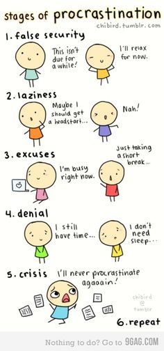 So true. Especially now, four days before the end of the semester ^^;