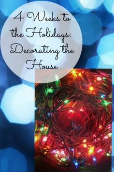 Decorating the Christmas tree has become more and more of a chore. This year I skipped the heirloom ornaments and started with a fresh theme. - 4 Weeks to the Holidays: Decorating the House | Organize 365