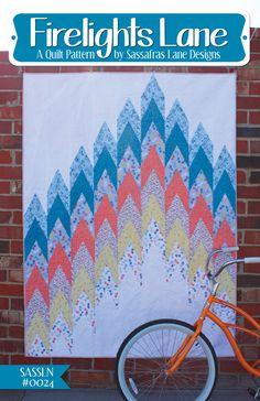 Firelights Lane - Quilt Pattern