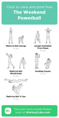 Free workout: The Weekend Powerball🔥 – 3-min abs, legs, shoulders exercise routine. Try it now or download as a printable PDF! Browse more training plans and create your own exercise programs with #WorkoutLabsFit · #AbsWorkout #LegsWorkout #ShouldersWorkout Don't need to go to the gym, just use your bodyweight and take a few minutes a day, 30 Day Weight Loss Challenge will greatly help to get a perfect bikini body! Leg Day Workouts, Ab Workout At Home, Easy Workouts, Free Workout, At Home Workouts, Workout Ideas, Perfect Bikini Body, Health App, Shoulder Workout