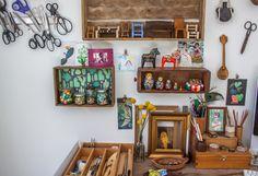 Pad Peek: Betina's Frida Boho Home