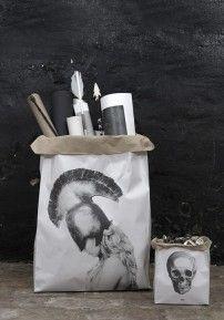 Stella & Skull craft paper bags - set of 2 ~ Love Warriors Skull Crafts, Small Skull, Love Warriors, Photo Bag, Art Archive, Bone Carving, Black Love, Hand Carved, Paper Crafts