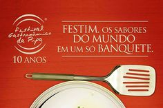 10ª edição do Festival Gastronômico da Pipa - http://chefsdecozinha.com.br/super/noticias-de-gastronomia/feiras-gastronomicas/10a-edicao-do-festival-gastronomico-da-pipa/ - #FestivalGastronômicoDaPipa