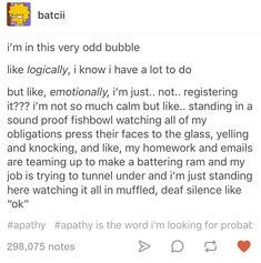 This spot-on description that's just too real: 22 Jokes About Motivation That Will Make You Laugh Then Cry Tumblr Posts, My Tumblr, Tumblr Stuff, Laughing Funny, Laughing So Hard, Chloe, Lack Of Motivation, Motivation Text, School Motivation