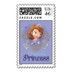 US Stamp - Sofia Properly Princess