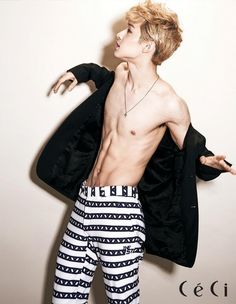 Super Juniors Henry // CeCi Korea // August 2013 Come visit kpopcity.net for the largest discount fashion store in the world!!