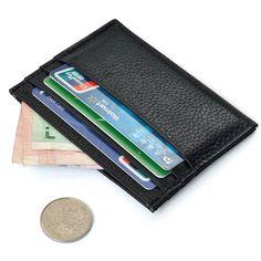 Best Deal New Maison Fabre Men Wallet Slim Credit Card Holder Mini Wallet ID Case Purse Bag Gift 1PC #CLICK! #clothing, #shoes, #jewelry, #women, #men
