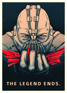 Bane - Dark Knight Rises - #Batman Fan-art