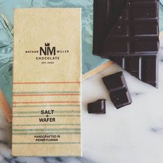 Indulging just got better - Nathan handcrafts bean to bar chocolate with a focus on sustainable + responsible sourcing. @nathanmillerchocolate #madewithlove in #Chambersburg #Pennsylvania #sponsored by tastingtable