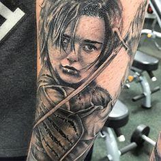 Arya Stark | Game of Thrones Tattoo