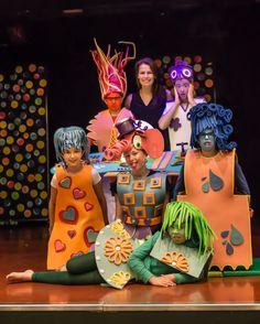 kleding gemaakt van #foam voor theater voorstelling