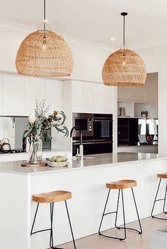 Kitchen Room Design, Home Decor Kitchen, Kitchen Living, Interior Design Kitchen, New Kitchen, Home Kitchens, Küchen Design, Home Renovation, Interior Styling