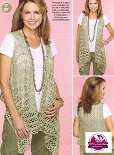 Fabulous Crochet a Little Black Crochet Dress Ideas. Georgeous Crochet a Little Black Crochet Dress Ideas. Crochet Bolero Pattern, Gilet Crochet, Crochet Jacket, Crochet Cardigan, Crochet Scarves, Crochet Shawl, Crochet Clothes, Crochet Vests, Crochet Patterns