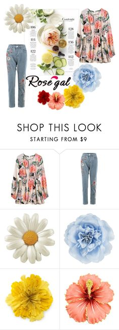 """""""Child of flowers"""" by maargita ❤ liked on Polyvore featuring Martha Stewart, Monsoon and Gucci"""