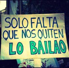 pancarta bailao2  #Nutrición y #Salud YG > nutricionysaludyg.com