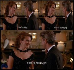 """"""" """"You're stunning."""" – Pretty Woman 22 Of The Best Rom-Com Movie Quotes That Will Give You Goosebumps In Good And Bad Ways Classic Movie Quotes, Romantic Movie Quotes, Favorite Movie Quotes, Classic Movies, Old Movie Quotes, Favorite Things, Pretty Woman Film, Pretty Woman Quotes, Iconic Movies"""